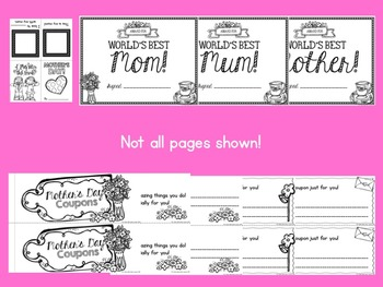 Mother's Day: Print and Go!
