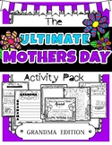 Mothers Day Activity BUNDLE !!! (For Grandmothers)