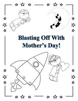 Mother's Day Activity! {Blasting Off With Mother's Day}