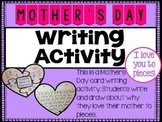 Mother's Day Activity - I love you to pieces!