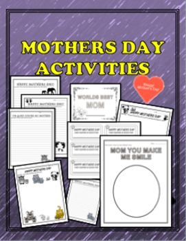 Mothers Day Activity Packet