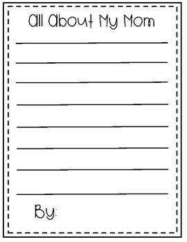 Mothers' Day Activity Packet: Coupon Book, Writing, and More!