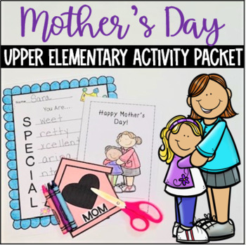 Mothers Day Activity Packet(Grades 1-4)