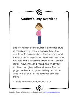 Mother's Day Activities