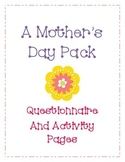 Mother's Day Activity and Song
