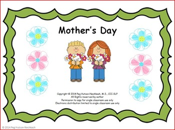 Mother's Day Interactive Book