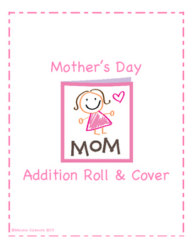 Mother's Day Addition Roll and Cover Game