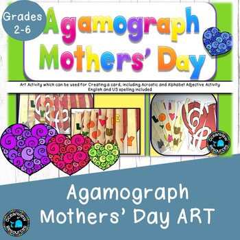 Mothers' Day Agamograph Art Activity