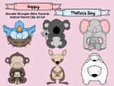 Animal Parent Clip Art Collection -- FREE!