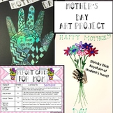 Mother's Day Art Project and Gift- 2 Projects in One (Easy & Fancy)