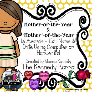 Mother's Day Mother-of-the-Year Awards {16 Awards}