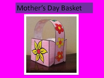 Mother's Day Basket Pattern