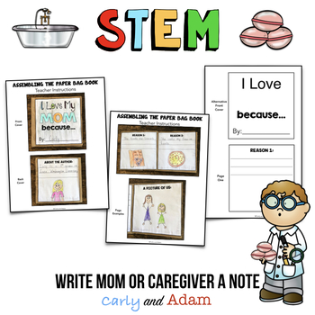 Mother's Day Bath Bomb STEM Activity & Mother's Day Writing Activities