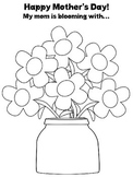 Mother's Day Blooming **FREEBIE!** - Articulation and EET