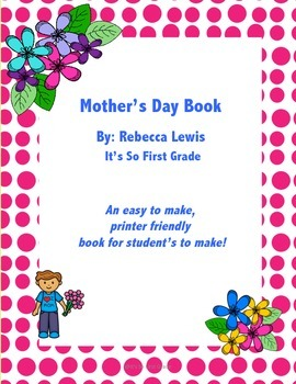 Free Mother's Day Book