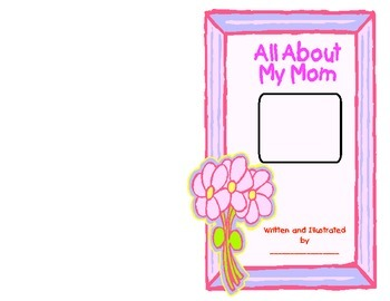 Mother's Day Book- All About My Mom
