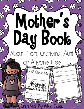 Mother's Day Book (Mom, Aunt, Grandma, and Blank Versions)