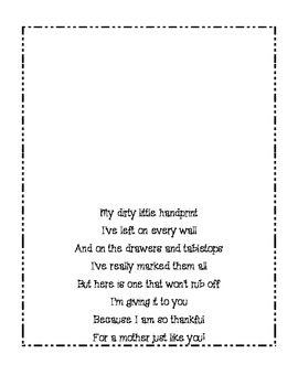 Mother's Day Book Printable