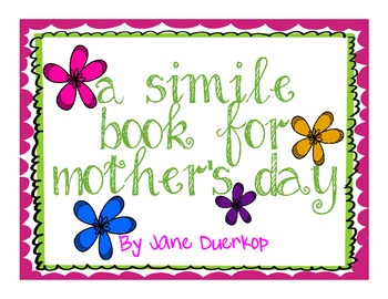 Mother's Day Book: Similes