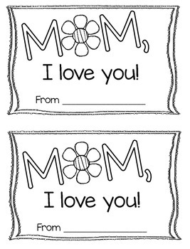 Mother's Day Book Template