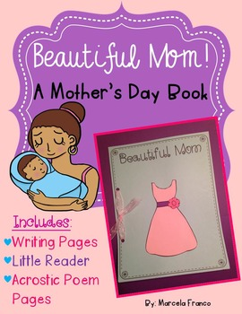 Mother's Day Book- Writing Craftivity plus Little Reader