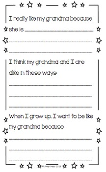 Mother's Day Book for Grandma