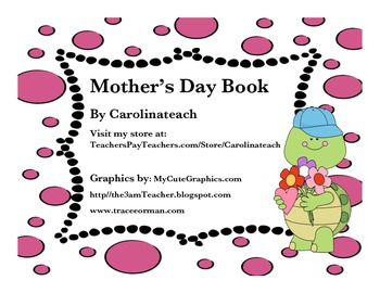 Mother's Day Book with Paper Doll