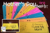 ‪#‎happyeasterdeals‬ Mother's Day Booklet-10 Reasons I Love My Mom