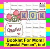 Mother's Day Writing Activities: Booklet (Special Person,t