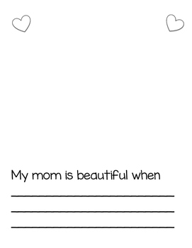 Mothers Day Booklet