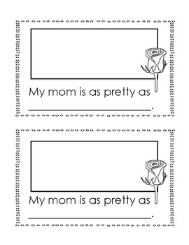 All About Mom Booklet