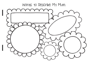Mothers Day Booklet Australian English Mum