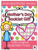 Mother's Day Book - British/Australian Version