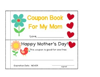 Mother's Day Booklet and Printables