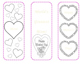 Mother's Day Bookmarks FREEBIE!