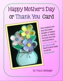 Mother's Day Bouquet Card With a Bonus!