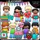 Mother's Day Clip Art & B&W Bundle (3 Sets)
