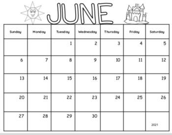 Mother's Day Calendar Parent Gift