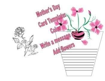 mother s day card by renee dawn teachers pay teachers