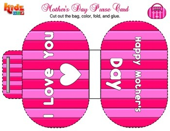 Mother's Day Card Activities ( 4 different cards )