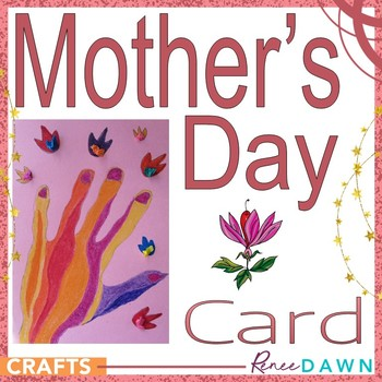 Mother's Day Card - Beautiful Hand