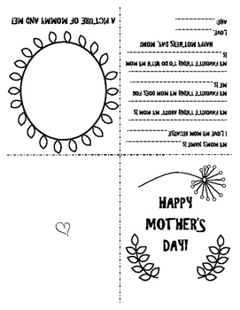 Mothers Day Card - Free