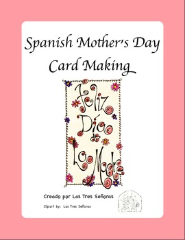 Mother's Day Card Making in Spanish