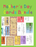 Mother's Day Cards Bundle Transition Age Special Education