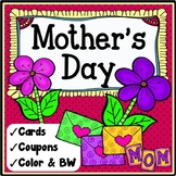 Mother's Day Activities {Mother's Day Cards and Coupons}