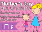 Mother's Day Cards: Practice ta, titi, z or compose your own!