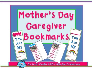 Mother's Day-Caregiver Bookmarks