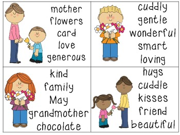 Mother's Day Centers Activities for the Classroom