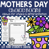Mothers Day Choice Board