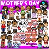 Mother's Day Clip Art Bundle {Educlips Clipart}
